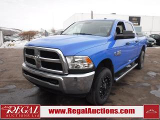Used 2017 RAM 3500 SXT Crew Cab SWB 4WD 6.7L for sale in Calgary, AB