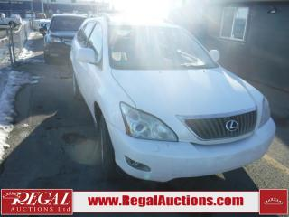Used 2009 Lexus RX 350 for sale in Calgary, AB