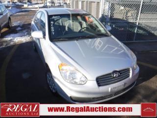 Used 2007 Hyundai Accent GL 4D Sedan for sale in Calgary, AB