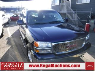 Used 2003 GMC Yukon 4D Utility 4WD for sale in Calgary, AB