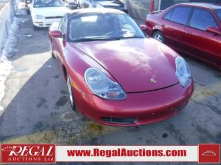 Used 2001 Porsche Boxster 2D ROADSTER for sale in Calgary, AB