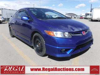 Used 2008 Honda Civic SI 2D Coupe for sale in Calgary, AB