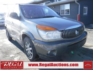 Used 2002 Buick Rendezvous 4D Utility 2WD for sale in Calgary, AB