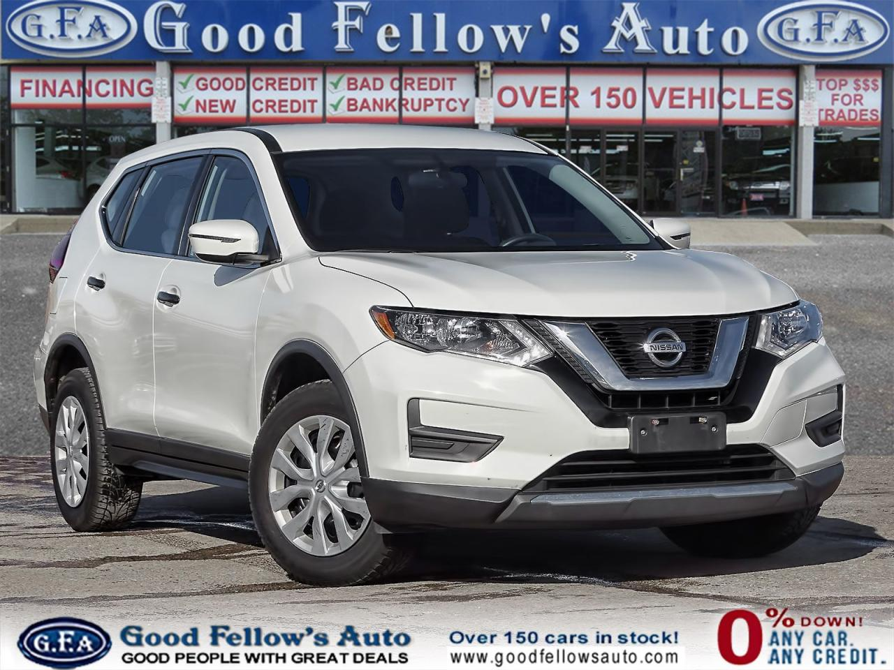 used 2017 Nissan Rogue car, priced at $13,400