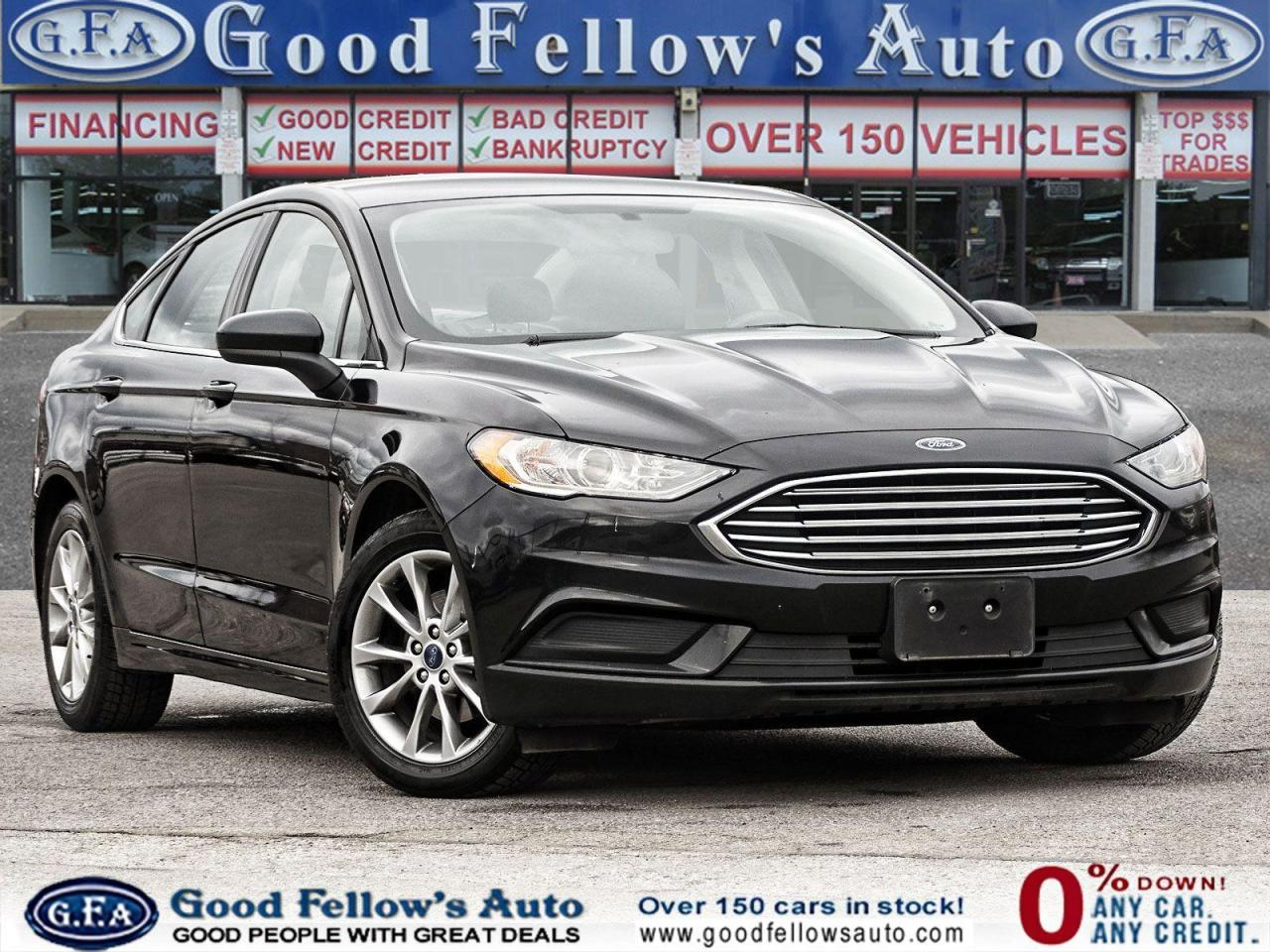 used 2017 Ford Fusion car, priced at $12,400