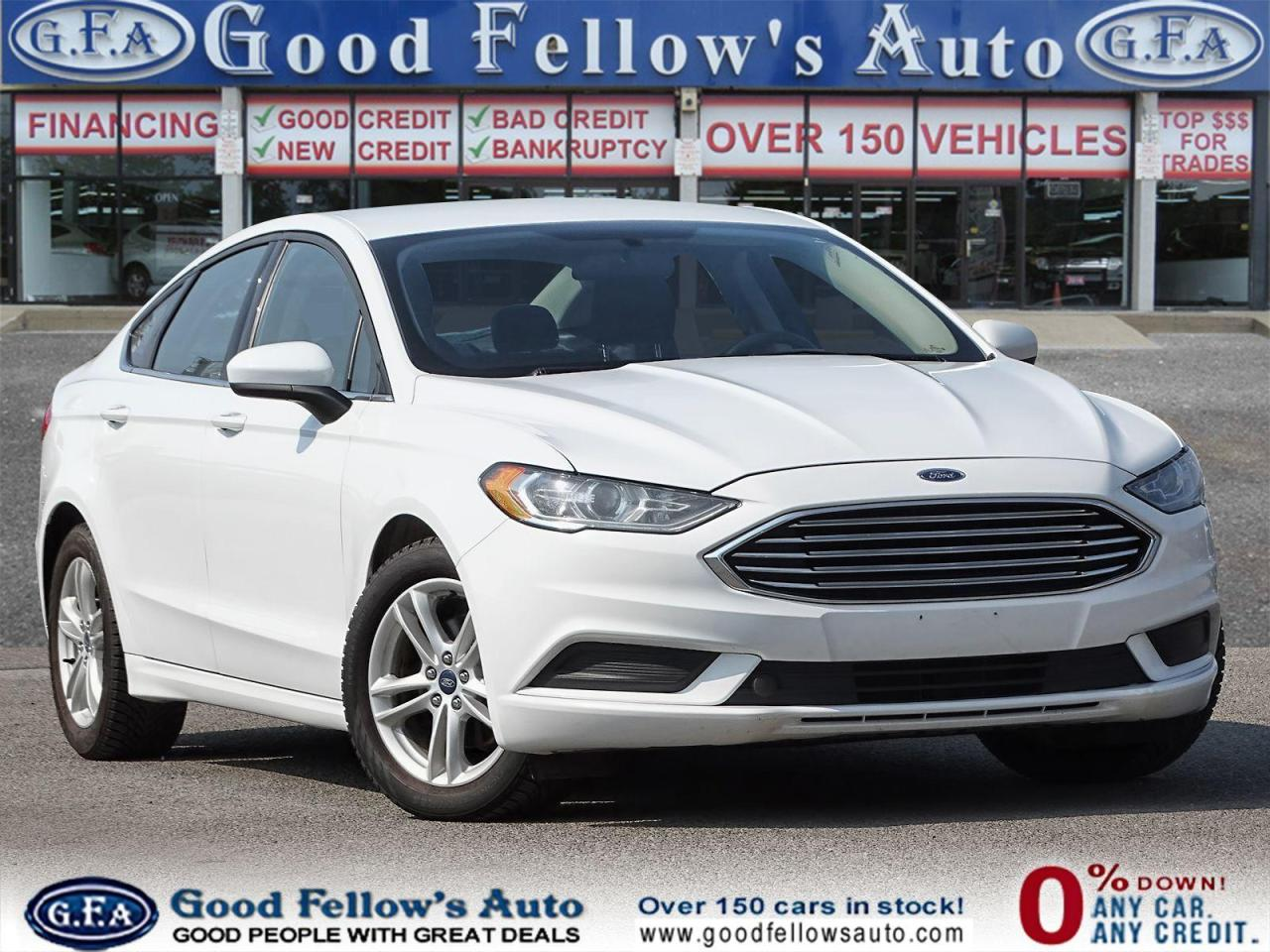 used 2018 Ford Fusion car, priced at $11,999