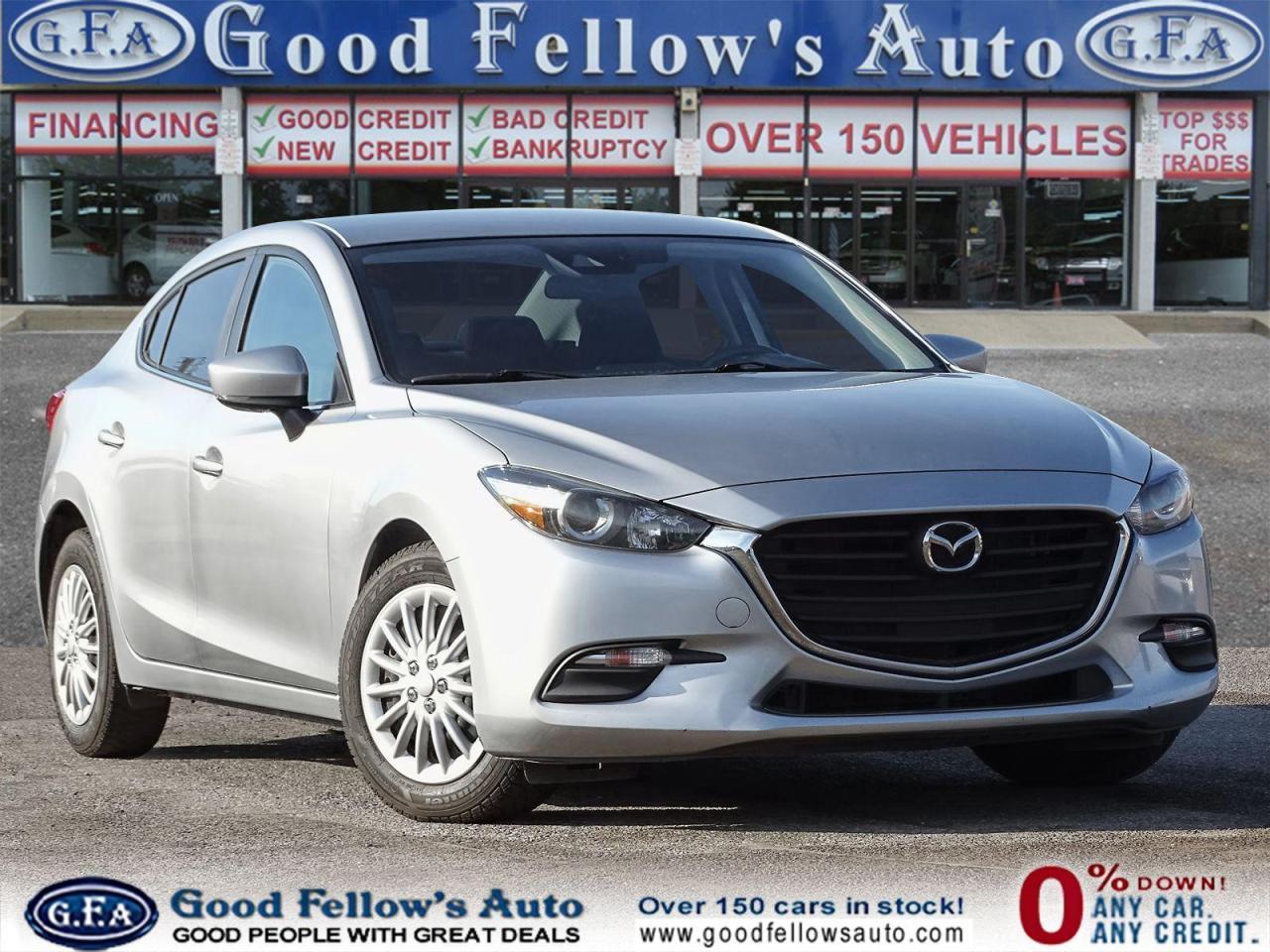 used 2018 Mazda Mazda3 car, priced at $12,400
